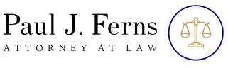 Paul Ferns Logo for Warwick RI lawyer